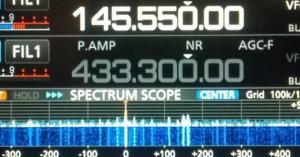Radioronde IC 9700